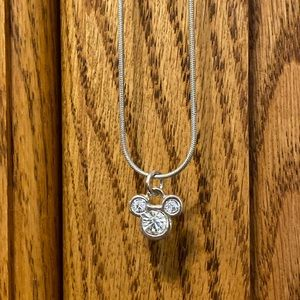 Mickey Mouse Crystal Necklace